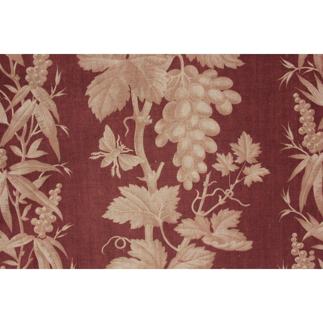 SO rare and GORGEOUS. This amazing textile is a fully intact, ENORMOUS bed curtain that would have hung from a Ciel de...