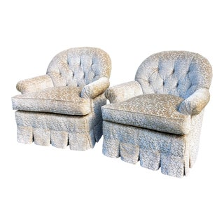 Edward Ferrell Lounge Chairs - a Pair For Sale
