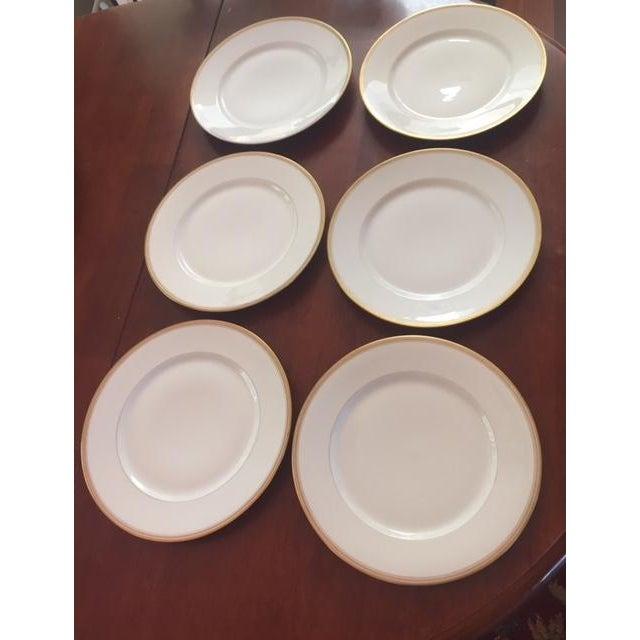 Antique Limoges France Dinner Plates - Set of 6 - Image 7 of 9