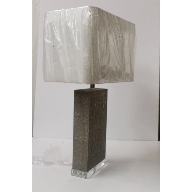 Shagreen Column Lamp - Image 5 of 6