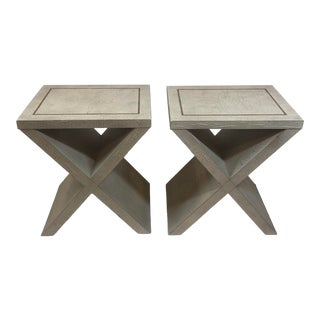Andrew Martin Vita Side Tables- A Pair For Sale