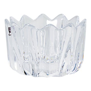 Orrefors Crystal Ashtray For Sale