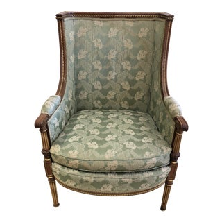 Ladies French Bergère Armchair For Sale