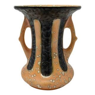 1920s Antique Art Deco Ditmar Urbach Czech Alienware Ceramic Vase For Sale
