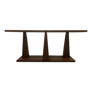 Century Furniture Column Console Table For Sale