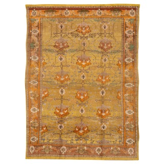 """Vintage Donegal Arts and Crafts Style Rug, 9'8"""" X 13'5"""" For Sale"""
