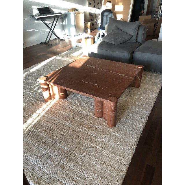 1960s Brutalist Gae Aulenti for Knoll Jumbo Table For Sale - Image 5 of 7