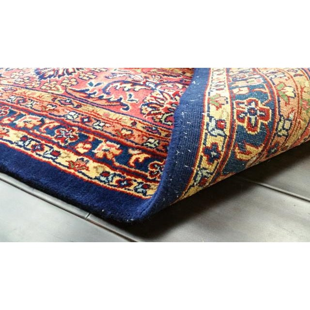 Traditional Wool Handmade Rug For Sale In Los Angeles - Image 6 of 7