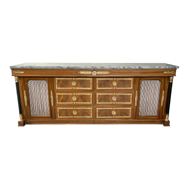 Palatial Empire-Style Sideboard For Sale