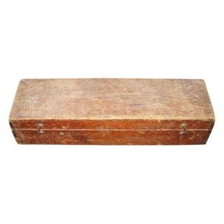Original Antique Tool Box