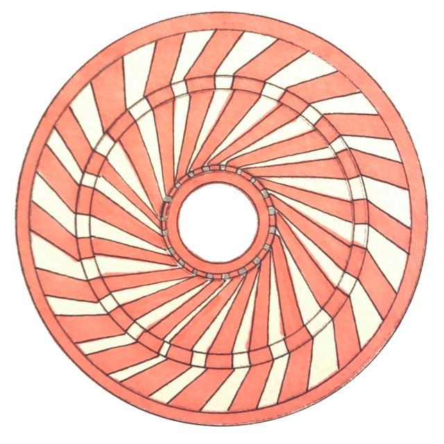 Natasha Mistry Minimalist Geometric Spiral Ink Drawings - Set of 9 For Sale - Image 4 of 10