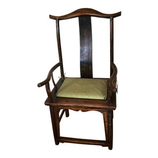 1950s Chinese Yoke Chair For Sale