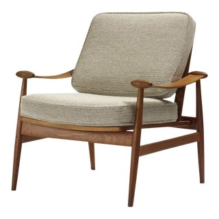 Finn Juhl Lounge Chair for France and Son For Sale
