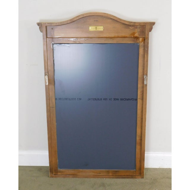 2000 - 2009 Woodland Furniture French Country Style Painted Wall Mirror For Sale - Image 5 of 12
