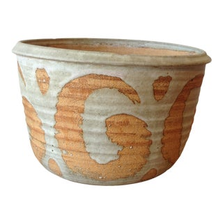 1960s Vintage Ceramic Planter For Sale