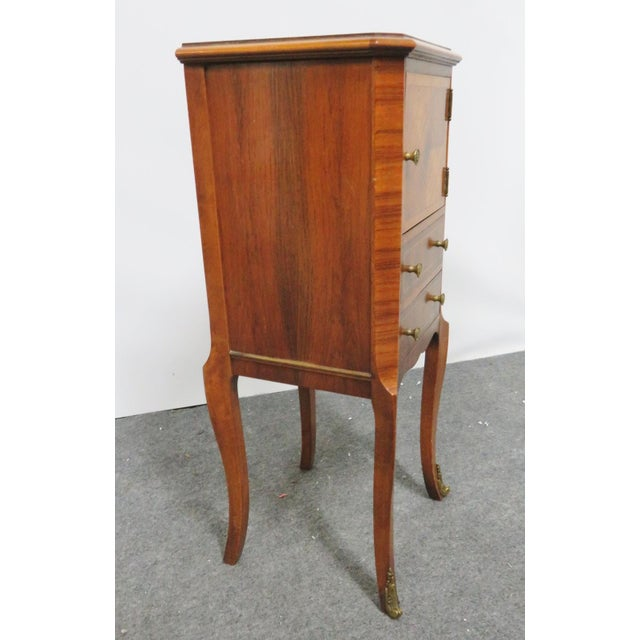 Louis XV Rosewood Nightstand For Sale In Philadelphia - Image 6 of 8