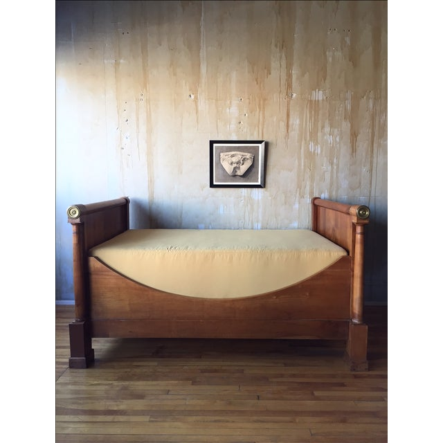 French Empire-Style Daybed - Image 4 of 8