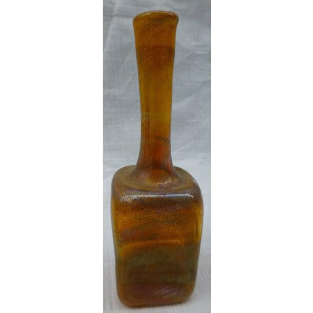 Vintage Studio Glass Bud Vase - Image 5 of 7