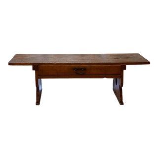 Antique Japanese Student Kneeling Desk For Sale