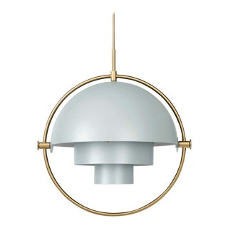 Louis Weisdorf 'Multi-Lite' Pendant Lamp in Sea Gray For Sale