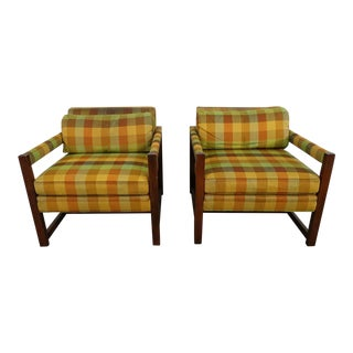 Mid-Century Modern Club Chairs- A Pair For Sale