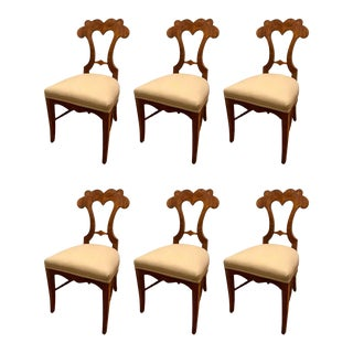 1820s Biedermeier Chairs - Set of 6 For Sale