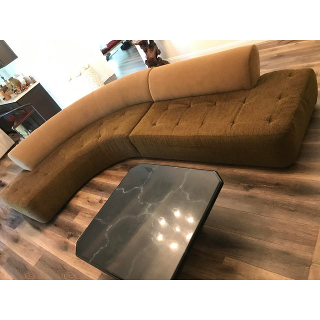 1990s 1990s Sculptural Post Modern Curved Italian Sectional For Sale - Image 5 of 11