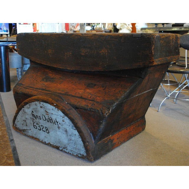 Industrial Foundry Mold Side Table - Image 5 of 8