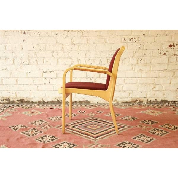 Danish Modern Armchairs by ICF Finland - Set of 8 - Image 4 of 9