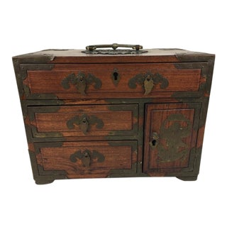 Antique Japanese Jewelry Chest
