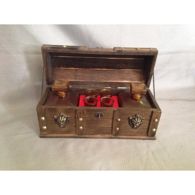 Vintage Lion Decanter Chest - Image 2 of 7