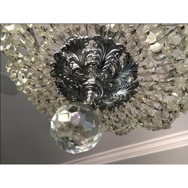1900s Empire Crystal Chandelier - Image 4 of 11