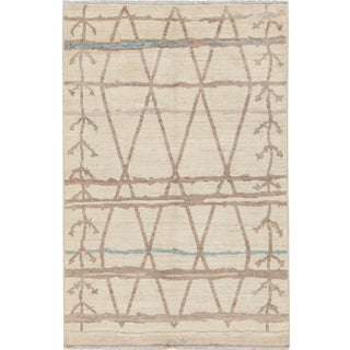 "Apadana Modern Moroccan Rug, 5'4"" X 7'10"" For Sale"