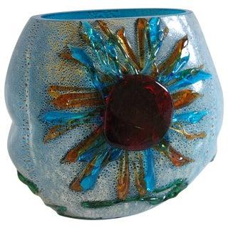 Murano Sun Vase For Sale