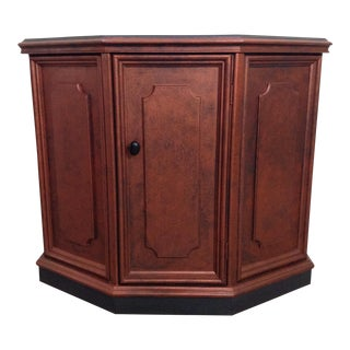 Traditional Style Chalk Paint Top Console