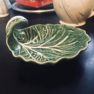 Vintage Bordallo Pinheiro Cabbage Dish Preview