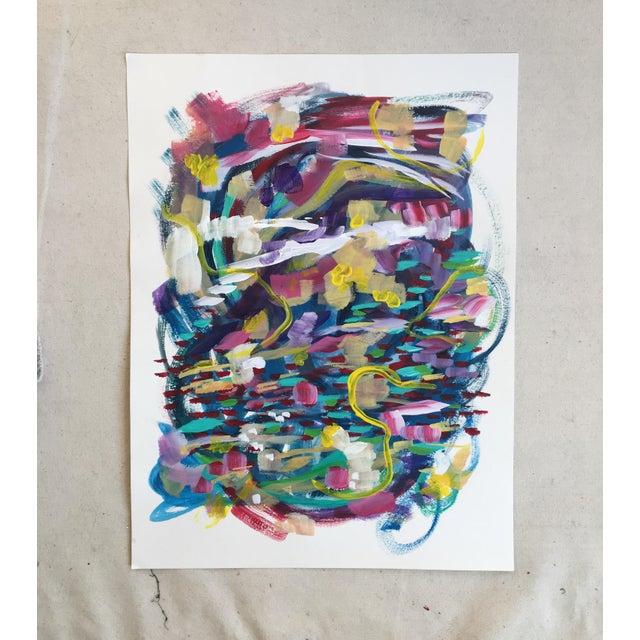 """No. 125"" Original Painting by Jessalin Beutler - Image 2 of 4"