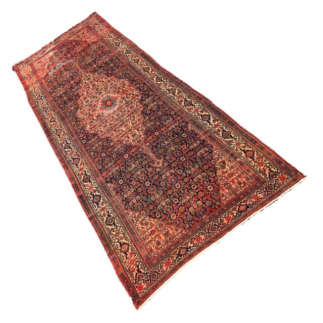 Late 19th Century 19th Fereghan / Saruk Palace Size Rug For Sale - Image 5 of 13