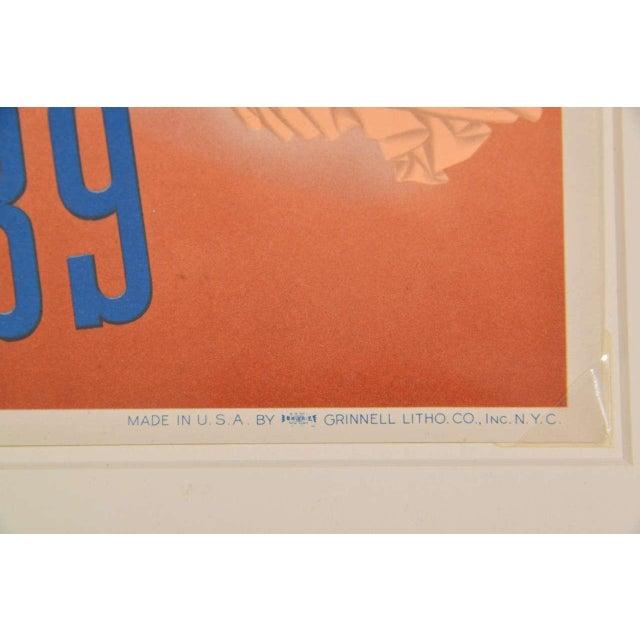 1939 Art Deco Machine Age Original New York World's Fair Posters Triptych For Sale In Dallas - Image 6 of 9