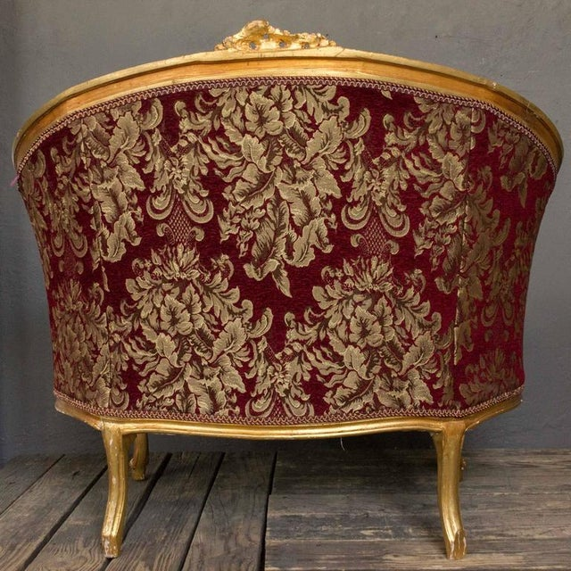 Gilt Rococo Style Marquise For Sale - Image 5 of 10