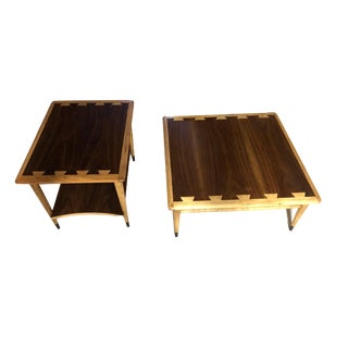 Lane Acclaim Mid Century Modern Coffee and End Tables - a Pair For Sale