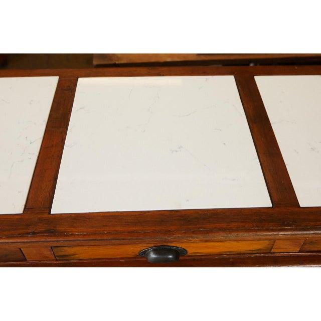 Wood 1920's Italian sideboard For Sale - Image 7 of 11
