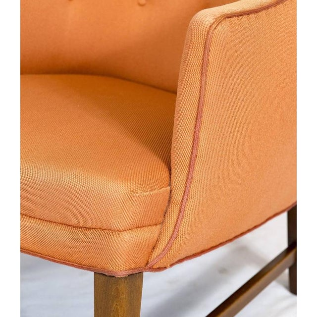 Tan Frits Henningsen Lounge Chair For Sale - Image 8 of 9
