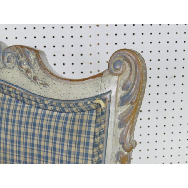 Swedish Rococo Style Desk Chair For Sale In Philadelphia - Image 6 of 9