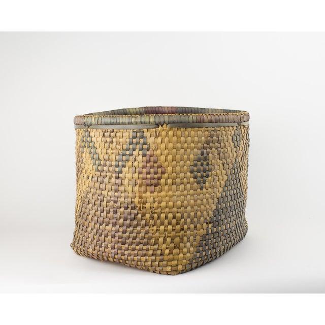 Vintage Tribal Basket For Sale - Image 5 of 12