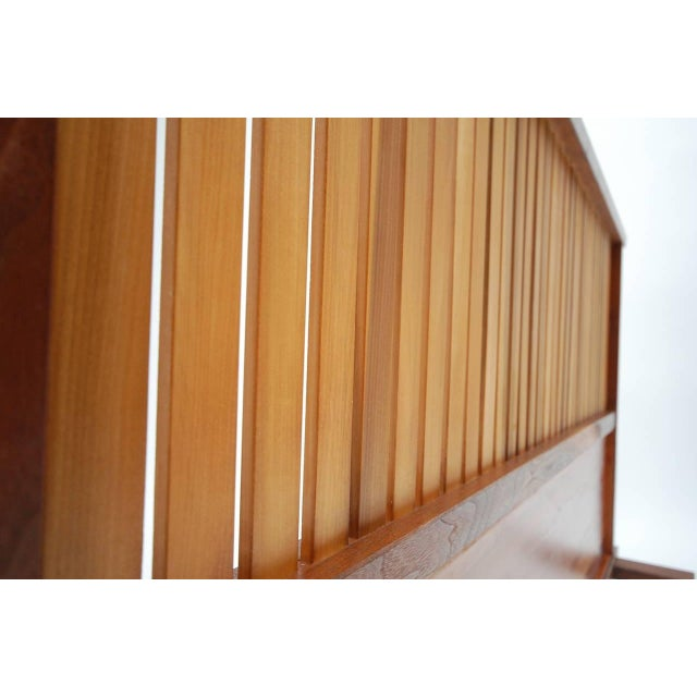 Mid-Century Modern Small Japanese Style Room Divider by Teruo Hara For Sale - Image 3 of 9