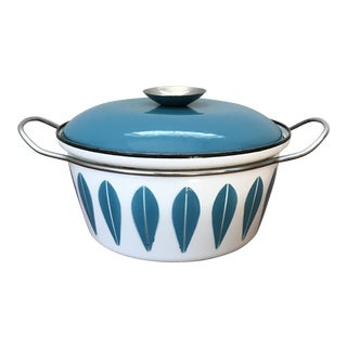 Mid-Century Cathrineholm Enamel Cookware For Sale