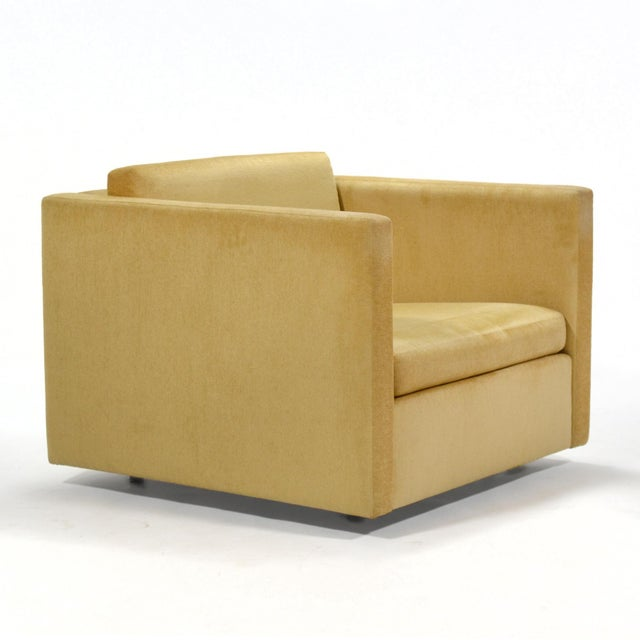Gold Charles Pfister Lounge Chair by Knoll For Sale - Image 8 of 10
