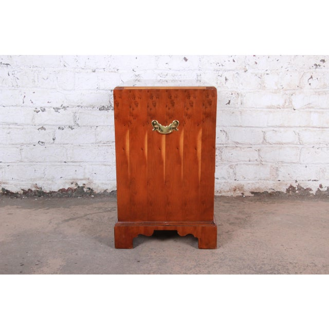 Baker Furniture Chippendale Fruitwood Chest of Drawers or Commode For Sale - Image 10 of 13