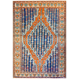 Gorgeous Early 20th Century Mazlaghan Malayer Rug For Sale